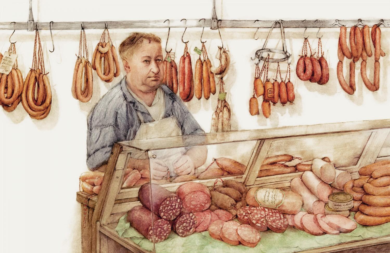 Frank Leder, Tradition, Roter Preßsack, Handseife