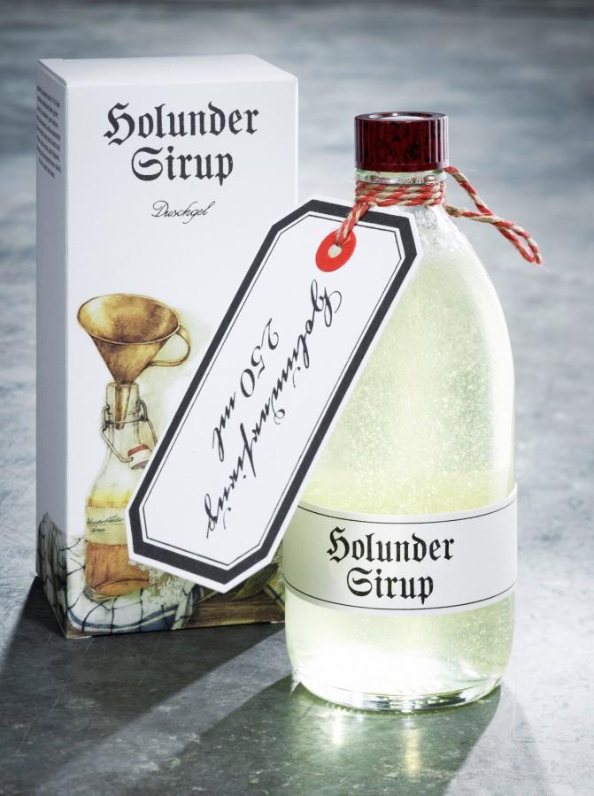 Frank Leder, Tradition, Holunder Sirup, Duschgel