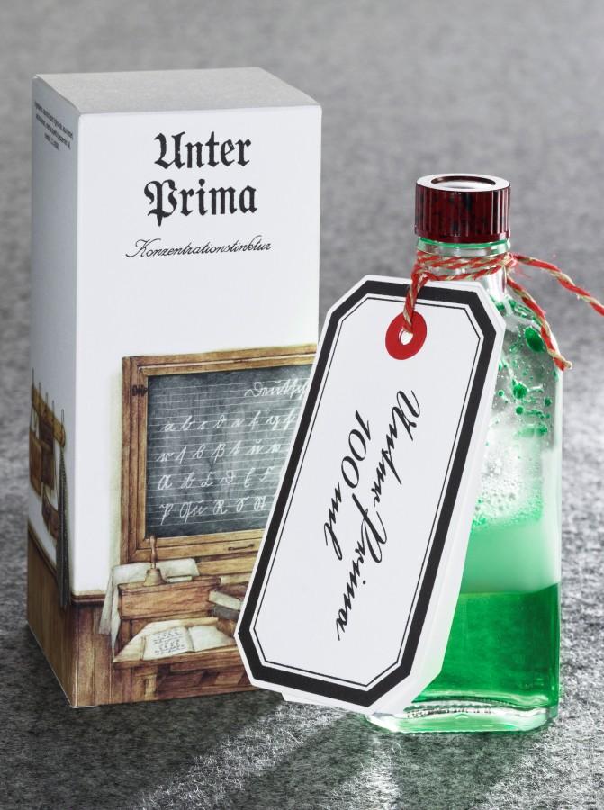 Frank Leder, Tradition, Unter Prima, Konzentrationstinktur